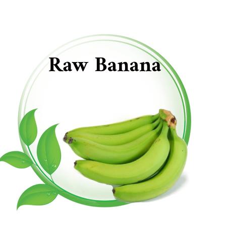 Raw banana in Asian markets Riyadh